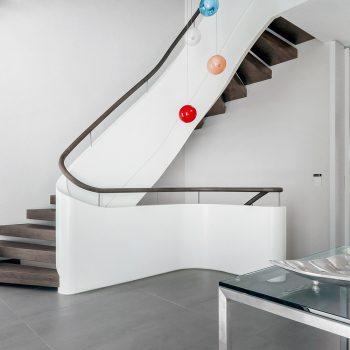 Stilvolle Designtreppe in Oberursel- Treppenbau Diehl Frankfurt