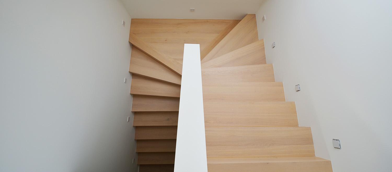 Brandschutz im Treppenbau in einer Maisonette Wohnung Frankfurt
